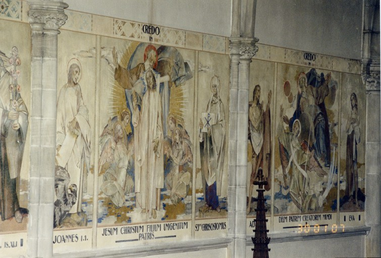 peinture monumentale : Credo