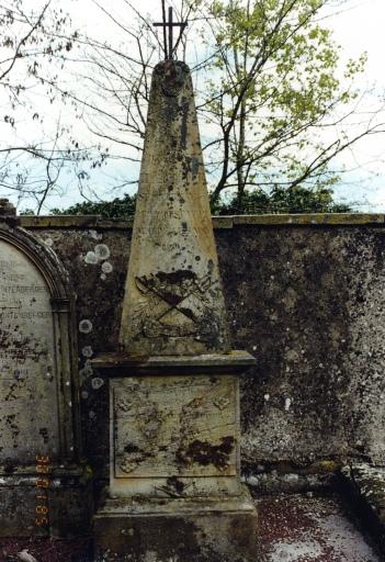 Le mobilier du cimetière