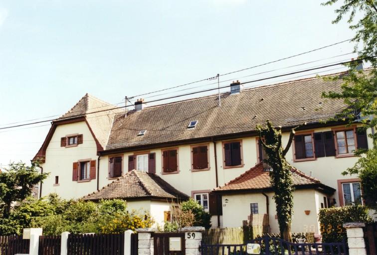 Cité ouvrière Sandozwiller (cité 14)