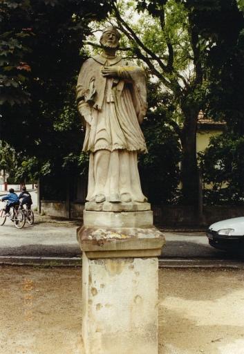 Statue de St Jean Népomucène H