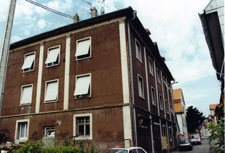 synagogue, actuellement immeuble