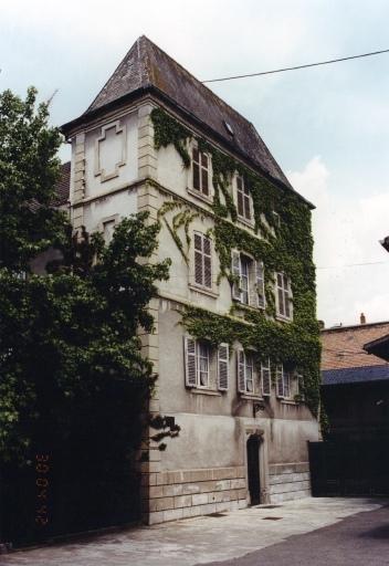 demeure dite hôtel de Schoenbeck