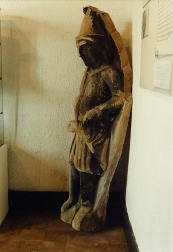 Sculpture : chasseur