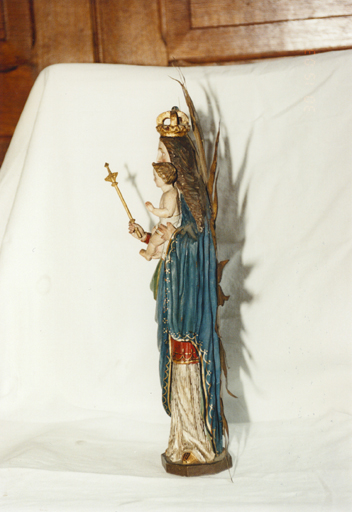 statue, Vierge à l'Enfant