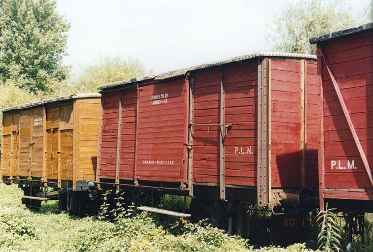 locomotives et wagons
