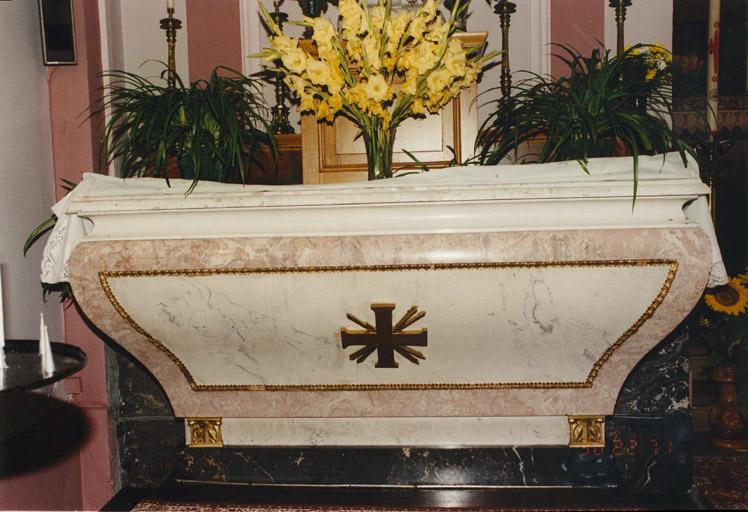 Le mobilier de l'église paroissiale Saint-Sébastien