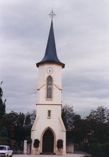 église paroissiale Saint-Alphonse (partiellement démolie)
