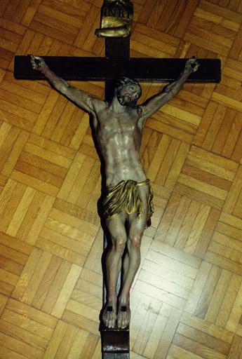 Croix de procession : Christ en croix (No 2)