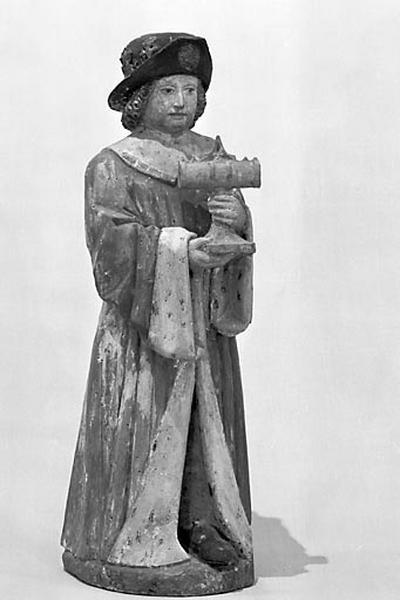 Groupe sculpté (statuettes) : la Vierge à l'Enfant et les trois rois mages