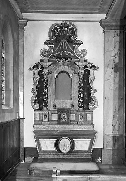 2 retables des autels secondaires