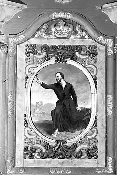 Tableau : saint François Xavier