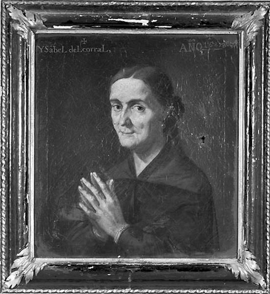 2 tableaux : portraits des fondateurs de la chapelle