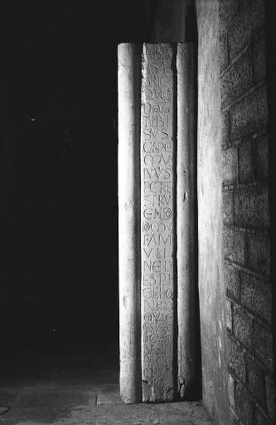 Pilier d'Albéric (fragment)