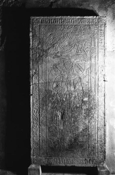 Dalle funéraire de Jean de Molpré