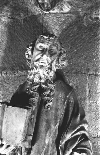 Statue : saint non identifié dit saint Pierre