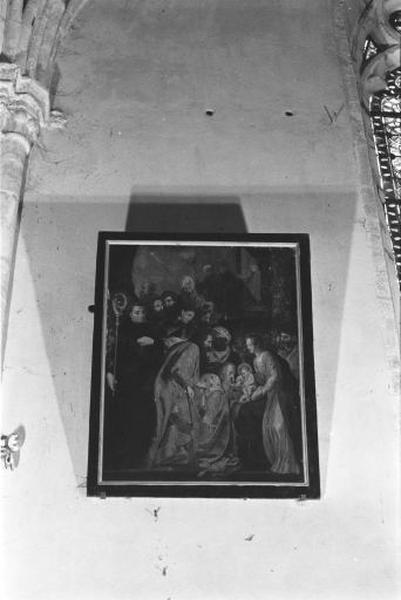 1er tableau : l'Adoration des Mages