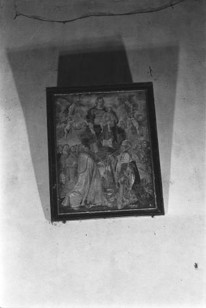 Tableau : la Vierge à l'Enfant dite du Rosaire