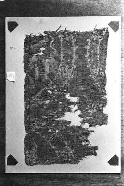 3e fragment de pièce de tissu