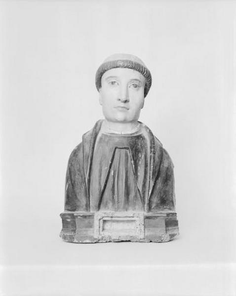 buste-reliquaire de saint Lothain (?)