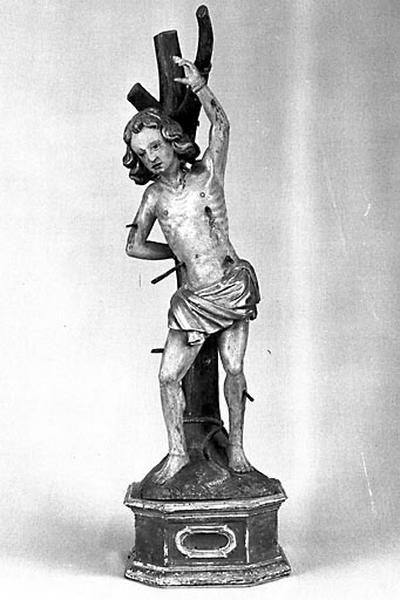 Statue-reliquaire : saint Sébastien