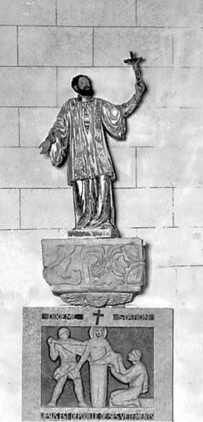 Statue : saint François Xavier