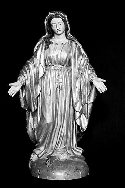 statue : Vierge de l'Immaculée Conception