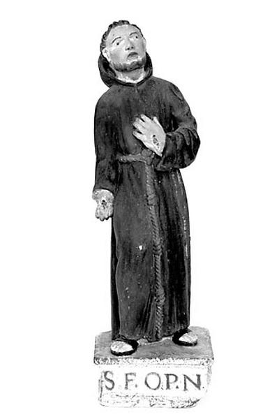 statuette : saint François