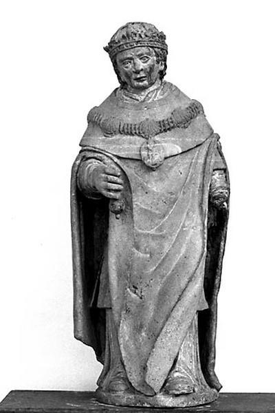 Statue : saint Louis