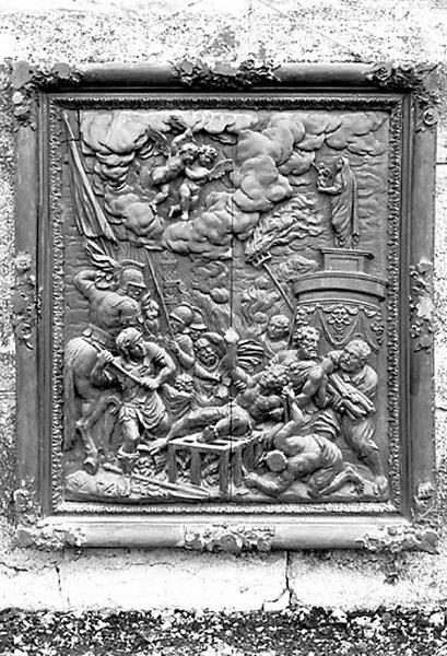 Relief : le Martyre de saint Laurent