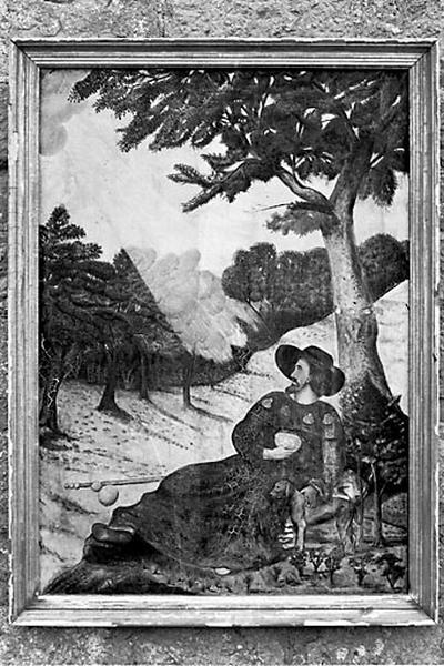 tableau : saint Roch (n° 2)