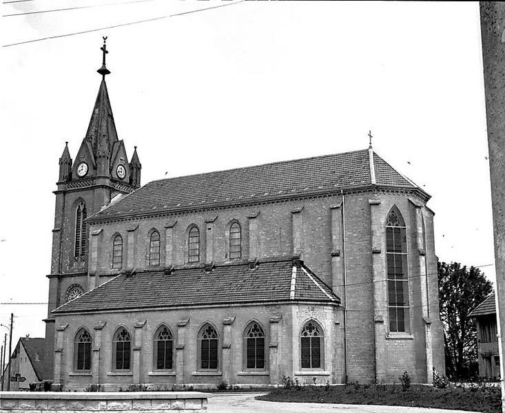 église paroissiale Saint-Hubert