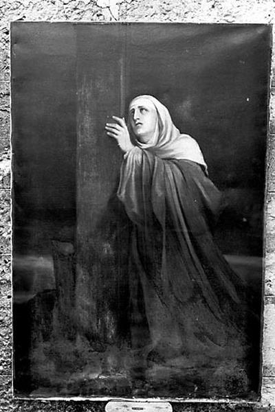 Tableau : la Vierge au pied de la Croix