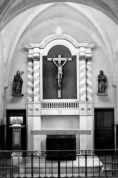 autel, retable (ensemble du maître-autel)