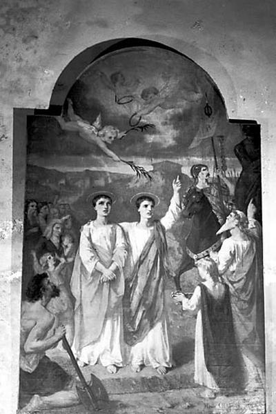 Tableau d'autel : saint Gervais et saint Protais