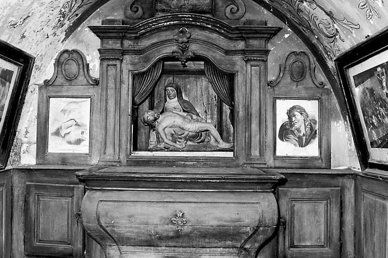 autel, retable, tableau (ensemble du maître-autel)