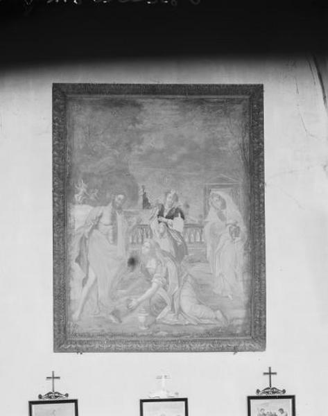 tableau : l'Apparition du Christ aux saintes femmes