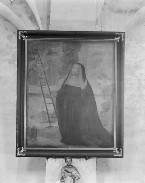 tableau : sainte Angèle