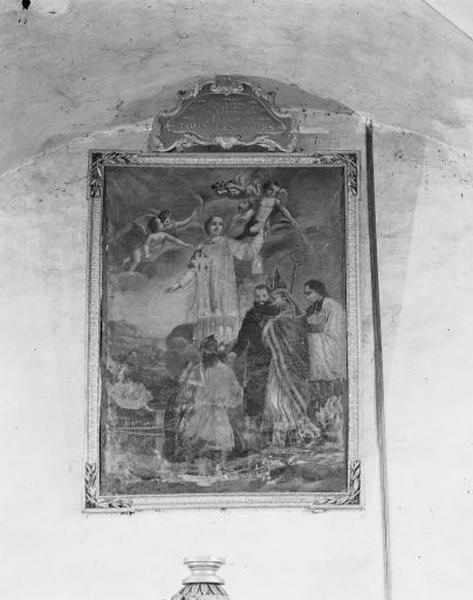 tableau : l'Invention des reliques de saint Etienne à Jérusalem
