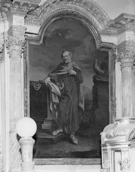 tableau : le Repentir de saint Pierre