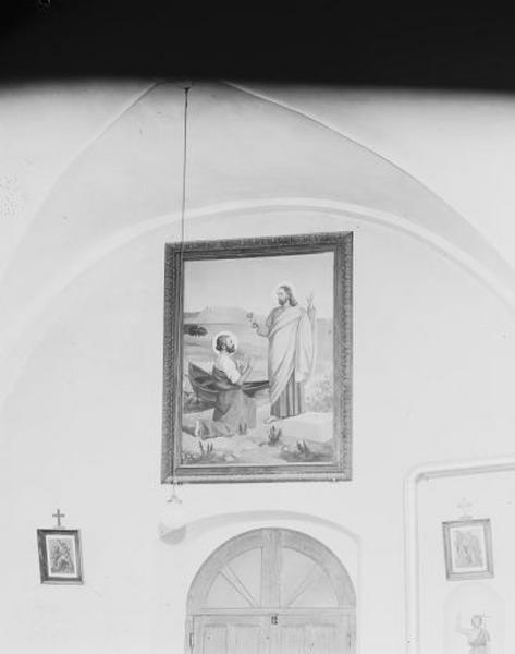 tableau : le Christ remettant les clefs à saint Pierre