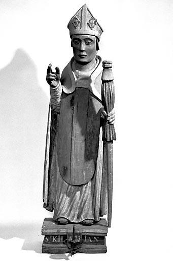 Statue : saint Kilian