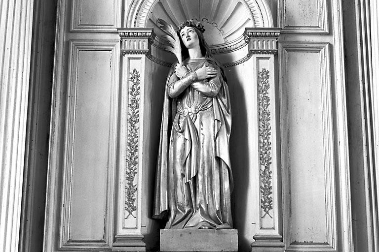 Statue : martyre