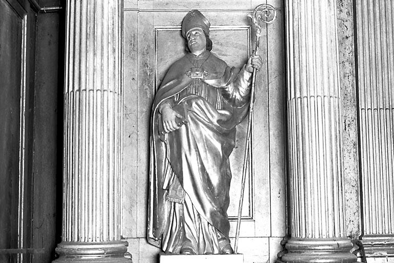Statue du retable : saint Kilian