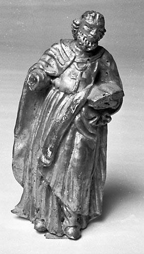 Statue (figurine) : saint au livre