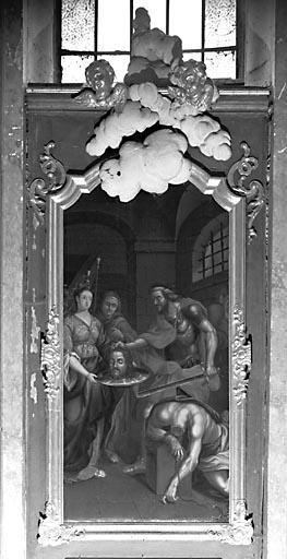 Tableau : la Décollation de saint Jean-Baptiste