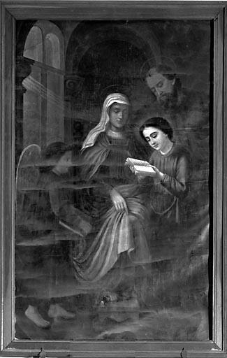 Tableau : l'Education de la Vierge (n° 2)