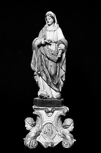 Statuette : la Vierge