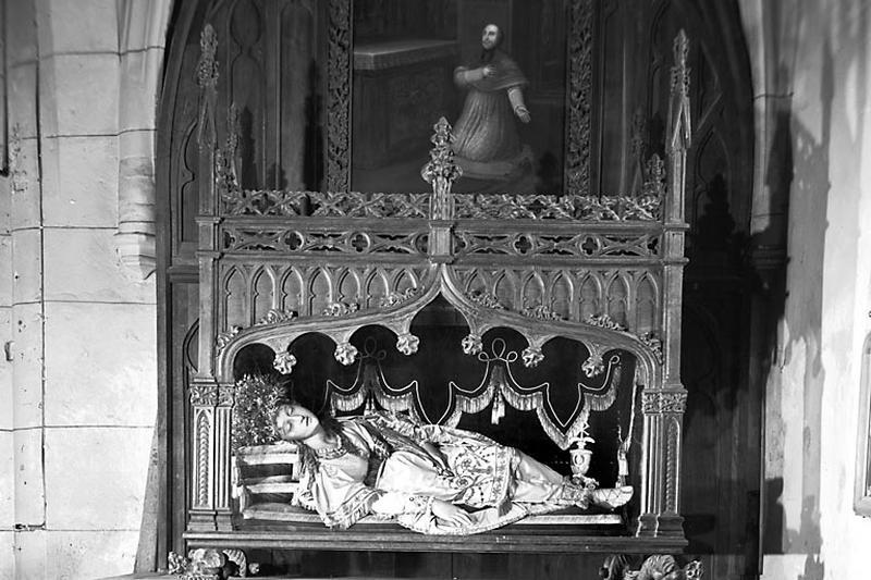 Reliquaire de sainte Victoire de Rome