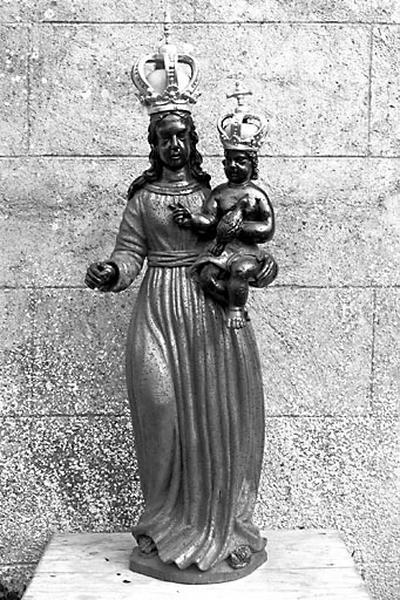 Statue : Vierge à l'Enfant dite Vierge d'Einsiedeln