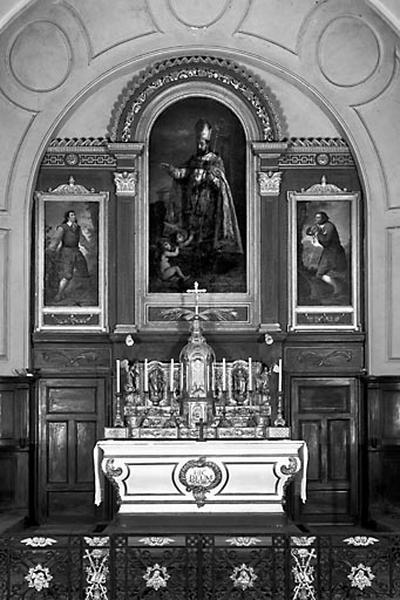 Retable du maître-autel